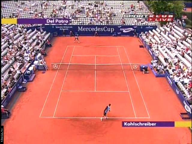 ATP 2008 Stuttgart QF Kohlschreiber vs Del Potro POL avi preview 0