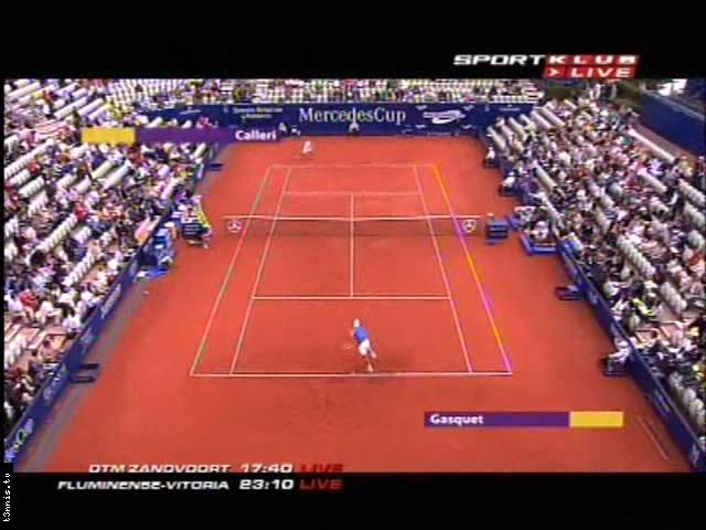 ATP 2008 Stuttgart SF Calleri vs Gasquet POL avi preview 0