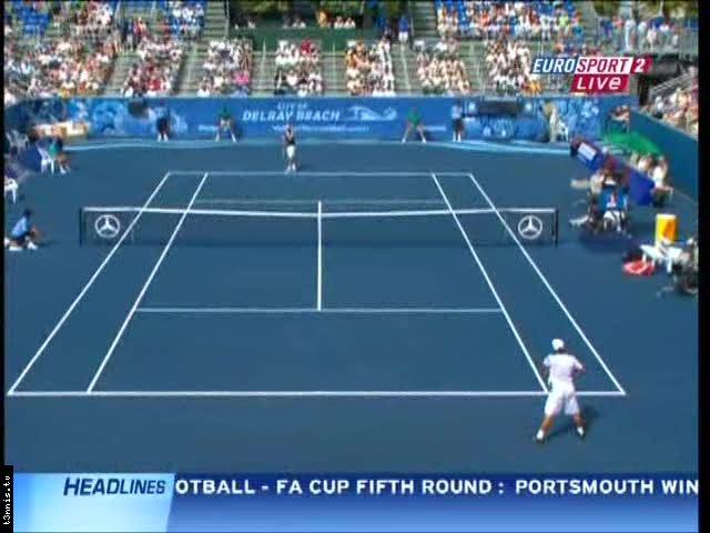 ATP Delray Beach 2008 FINAL Blake vs Nishikori POL mp4 preview 0