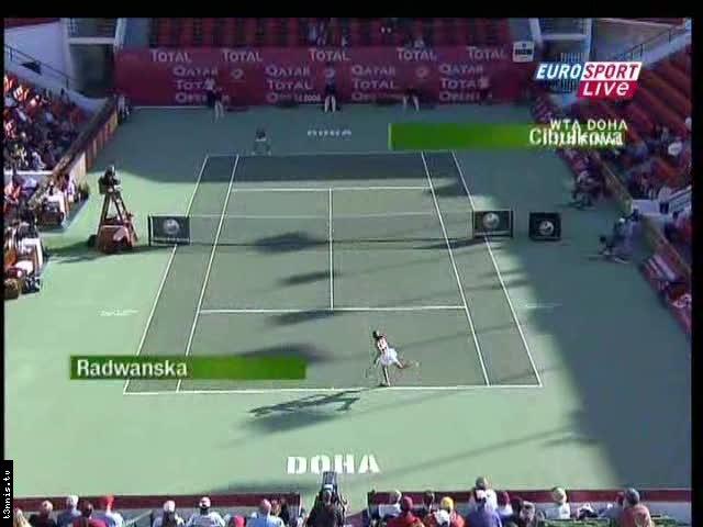 WTA Doha 2008 QF D Cibulkova vs A Radwanska POL mp4 preview 0