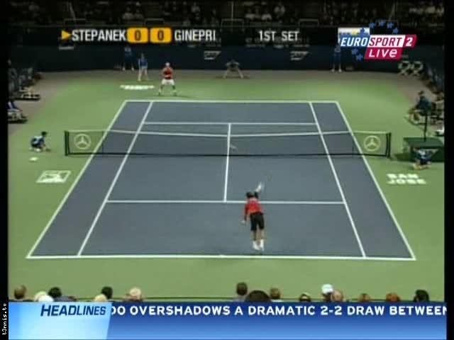 ATP San Jose 2008 SF Ginepri vs Stepanek POL mp4 preview 0