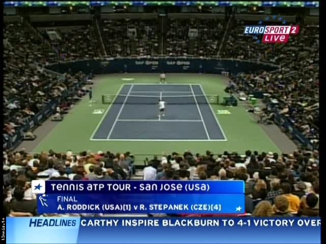 ATP San Jose 2008 FINAL Roddick vs Stepanek POL mp4 preview 0