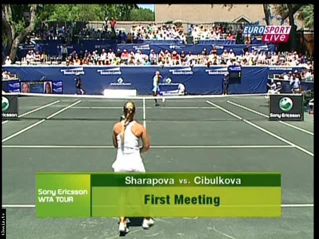 Amelia Island 2008 FINAL Cibulkova vs Sharapova POL mp4 preview 0