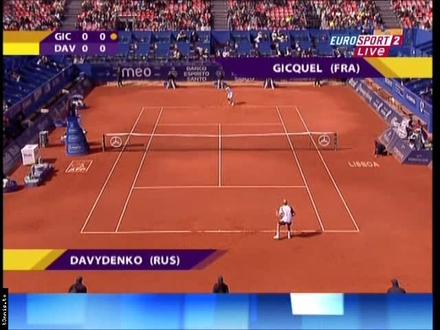 Estoril 2008 QF Davydenko vs Gicquel POL mp4 preview 0
