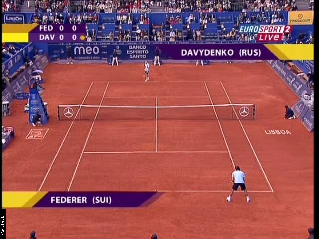 Estoril 2008 FINAL Federer vs Davydenko (plus Ceremony) POL preview 0