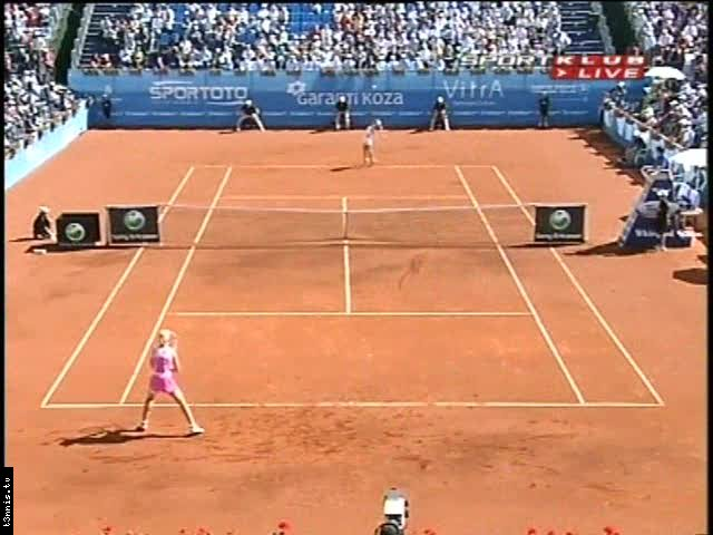 WTA 2008 Istanbul FINAL Dementieva vs Radwanska POL avi preview 0