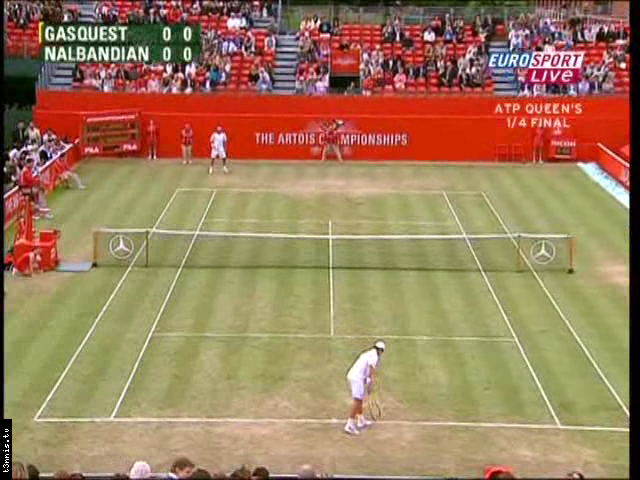 ATP 2008 London QF Gasquet vs Nalbandian POL avi preview 0
