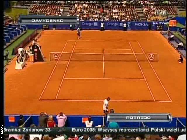 ATP 2008 Warsaw FINAL Davydenko vs Robredo POL avi preview 0