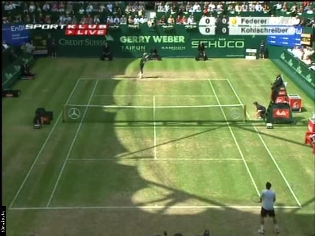 ATP 2008 Halle FINAL Federer vs Kohlschreiber POL avi preview 0